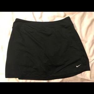 Nike black athletic skort